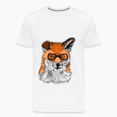 fox hipster T-Shirts