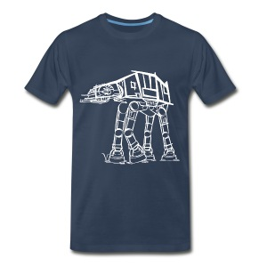 AT-AT Imperial Walker [Artist Rendering 2] Men's P - Men's Premium T-Shirt
