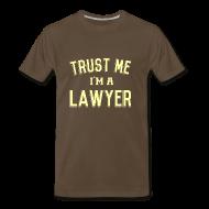 T-Shirts ~ Men's Premium T-Shirt ~ Trust Me I'm a Lawyer T-Shirt