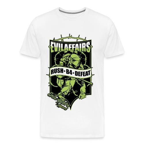 RUSH B4 DEFEAT 3-4XL - Men's Premium T-Shirt