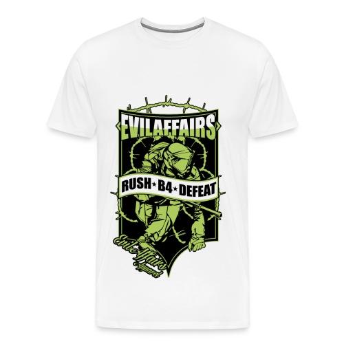 RUSH B4 DEFEAT - Men's Premium T-Shirt