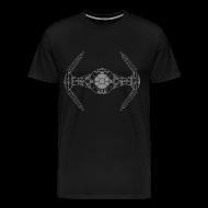 T-Shirts ~ Men's Premium T-Shirt ~ SKYF-01-019 TIE Fighter Star Wars