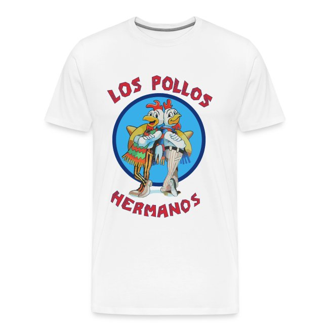 e025b823 AReliableSource | Los Pollos Hermanos - Mens Premium T-Shirt