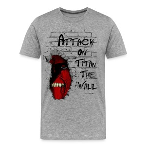 Another Titan Breaking The Wall - Men's Premium T-Shirt