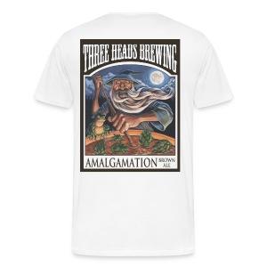 Amalgamation - Black Logo (Big Sizes) - Men's Premium T-Shirt