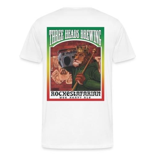 Rochestafarian - Black Logo  (Big Sizes) - Men's Premium T-Shirt