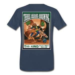 Too Kind - White Logo (Big Sizes) - Men's Premium T-Shirt