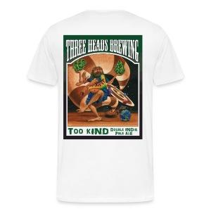 Too Kind - Black Logo (Big Sizes) - Men's Premium T-Shirt