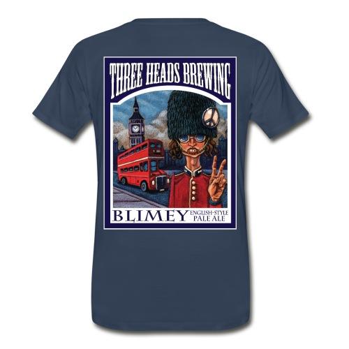 Blimey - White Logo (Big Sizes) - Men's Premium T-Shirt