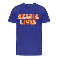 T-Shirts ~ Men's Premium T-Shirt ~ Azania Lives