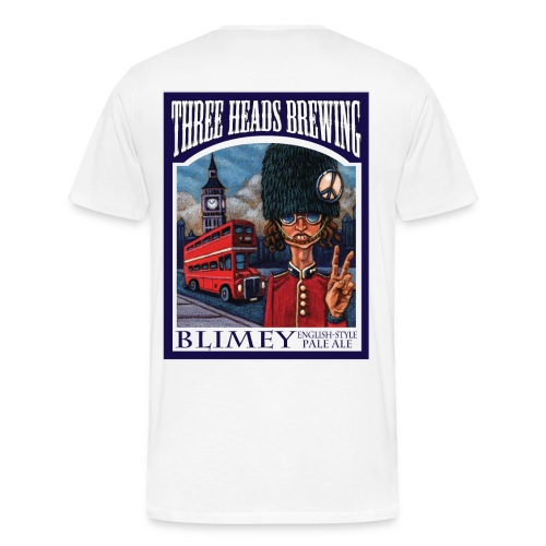 Blimey - Black Logo (Big Sizes) - Men's Premium T-Shirt