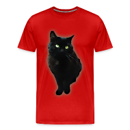 T-Shirts ~ Men's Premium T-Shirt ~ Black cat