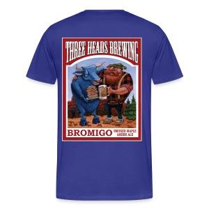 Bromigo - White Logo (Big Sizes) - Men's Premium T-Shirt