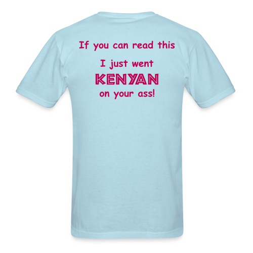MENS RUNNING T SHIRT - JUST WENT KENYAN - Men's T-Shirt