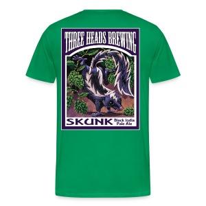 Skunk - White Logo (Big Sizes) - Men's Premium T-Shirt