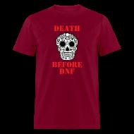 T-Shirts ~ Men's T-Shirt ~ MENS RUNNING T SHIRT - DEATH BEFORE DNF