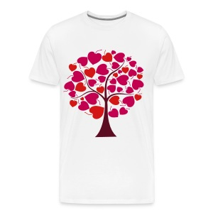 darr love tree T-Shirts - Men's Premium T-Shirt
