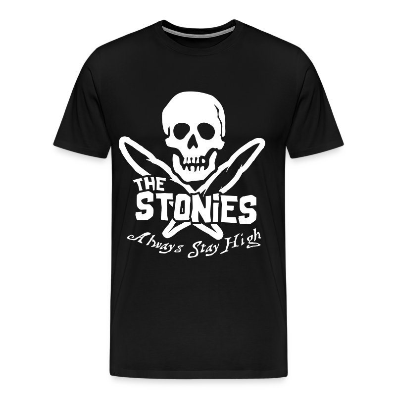 The Stonies Skull - Men's Premium T-Shirt