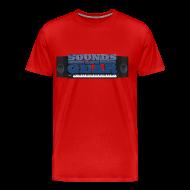 T-Shirts ~ Men's Premium T-Shirt ~ SAG Logo Color Tee Big