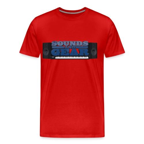 SAG Logo Color Tee Big - Men's Premium T-Shirt