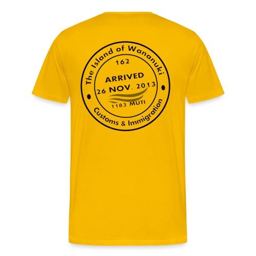 Wananuki Island T - Men's Premium T-Shirt