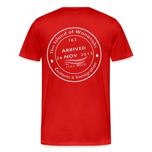 Wananuki Island - Men's Premium T-Shirt