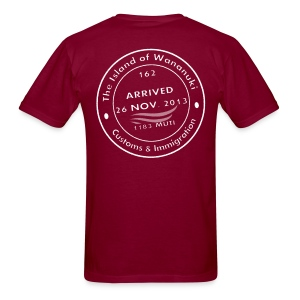Wananuki Island White - Men's T-Shirt