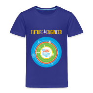 Baby & Toddler Shirts ~ Toddler Premium T-Shirt ~ Toddler Future Engineer Shirt (Front Design Only)