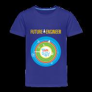 Baby & Toddler Shirts ~ Toddler Premium T-Shirt ~ Toddler Future Engineer Shirt (Front Design Only)