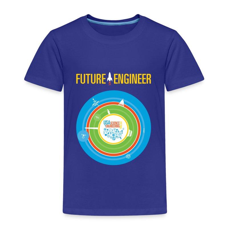 Toddler Future Engineer Shirt (Front Design Only) - Toddler Premium T-Shirt