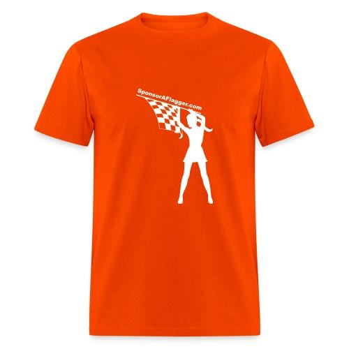 SAF Men's Heavyweight T-shirt w/White Logo - Men's T-Shirt