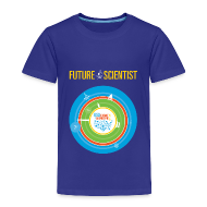 Baby & Toddler Shirts ~ Toddler Premium T-Shirt ~ Toddler Future Scientist T-shirt (Front Design Only)
