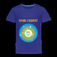 Baby & Toddler Shirts ~ Toddler Premium T-Shirt ~ Toddler Future Scientist T-shirt (Front Design Only)