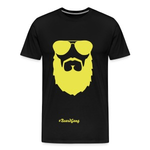 #BeardGang Bearded T-Shirt - Men's Premium T-Shirt