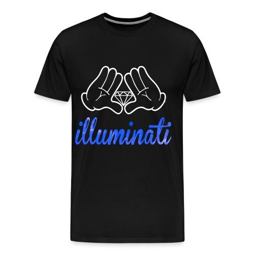 Illuminati Illuminated - Men's Premium T-Shirt