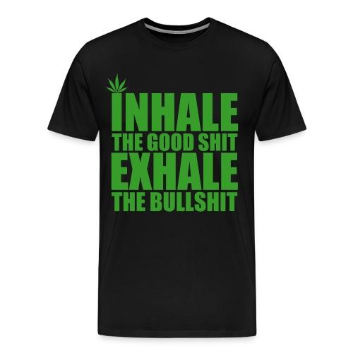 Illuminated Inhale - Men's Premium T-Shirt