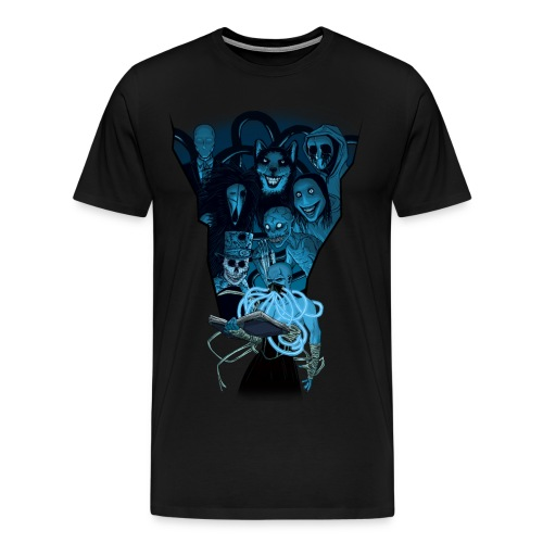 Mr. Creepypasta Shirt - Men's Premium T-Shirt
