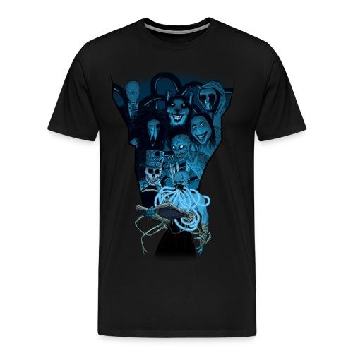Mr. Creepypasta Shirt - Men's Premium T-Shirt