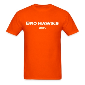 Brohawks T-shirt Orange - Men's T-Shirt