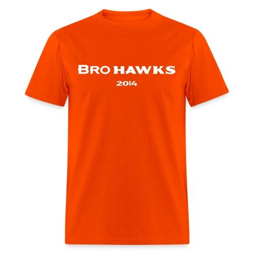 Brohawks T-shirt Orange - Men's T-Shirt