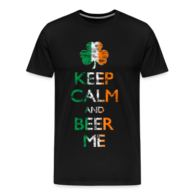 Keep Calm And Beer Me T-shirt