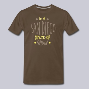 San Diego State Of Mind - Men's Premium T-Shirt