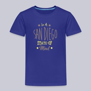San Diego State Of Mind - Toddler Premium T-Shirt