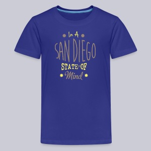 San Diego State Of Mind - Kids' Premium T-Shirt