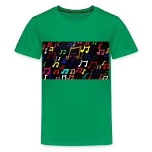 Music Notes - Kids - Kids' Premium T-Shirt