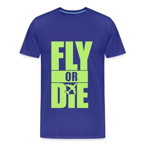 FLYORDIE - Men's Premium T-Shirt
