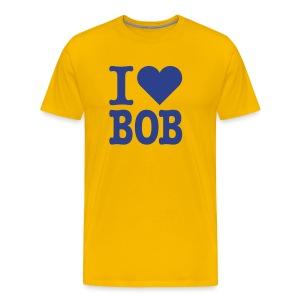 I Heart Bob - Men's Premium T-Shirt