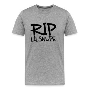 rip lil snupe t-shirt - Men's Premium T-Shirt