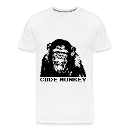 Code Monkey - Men's Premium T-Shirt