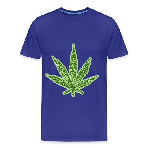 Legalize Mary J - Men's Premium T-Shirt